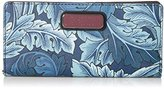 Marc by Marc Jacobs Sophisticato Printed Acanthus Tomoko Wallet Wallet Acanthus Print Gettysburg Blue Multi