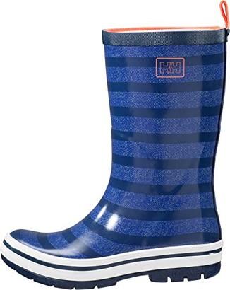 Helly Hansen Women's Waterproof Midsund 2 Rain Boots Graphite Blue/Vintage Indigo/Aqua Blue (Matte)