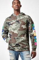 PacSun Bond Camouflage Relaxed Pullover Hoodie