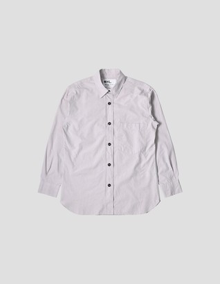 Margaret Howell Basics Shirt in Putty - Extra Small (XS) | cotton | putty - Putty