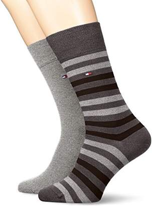 Tommy Hilfiger TH MEN DUO STRIPE SOCK 2P(Pack of 2
