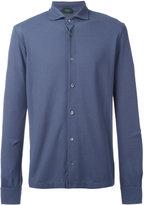 Zanone knitted shirt - men - Cotton - 52