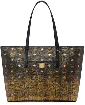 MCM Medium Gradations Visetos Shopper Tote Bag