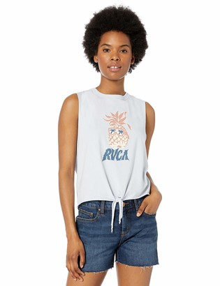 RVCA Womens Reflections Crew Tank TOP