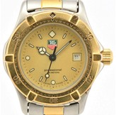 Tag Heuer 2000 964.008 Stainless Steel & Gold Plated 27mm Womens Watch