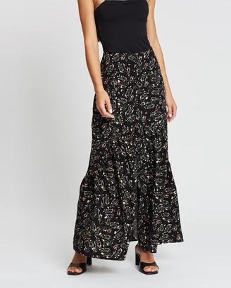 Atmos & Here Millie Maxi Ruffle Skirt
