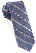 The Tie Bar Blue Editor Stripe Tie
