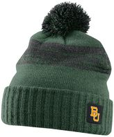 Nike Baylor Bears Striped Knit Beanie - Adult