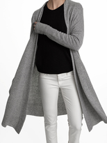 White + Warren Cashmere Long Swing Cardigan