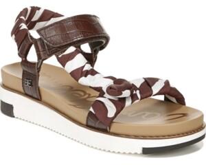 Sam Edelman Ashie Footbed Sandals Women's Shoes
