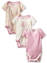 Gerber Baby-Girls Newborn 3 Pack Cat's Meow Bodysuit