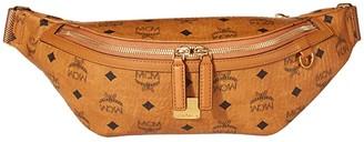 MCM Fursten Visetos Belt Bag Medium (Cognac) Bags
