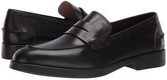 Salvatore Ferragamo Ayden Loafer (Black) Men's Slip on Shoes