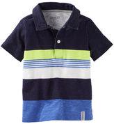 Osh Kosh Engineered Stripe Jersey Polo