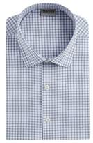 Kenneth Cole Reaction Plaid Casual Button-Down Shirt