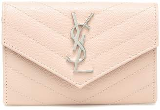 Saint Laurent Envelope Small leather wallet