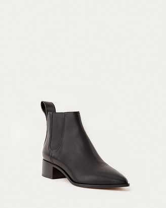 Loeffler Randall Nellie Black Chelsea Boot