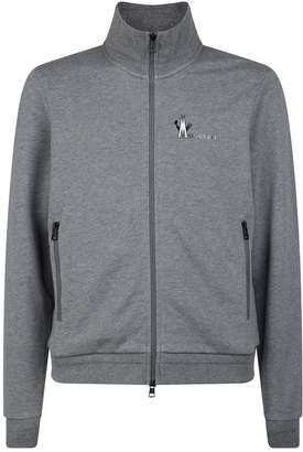 Moncler Logo Zip-Up Hoodie