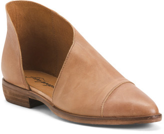 Made In Spain Leather Flats