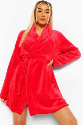 boohoo Basic Short Robe