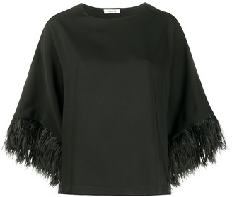 P.A.R.O.S.H. Wide Sleeve Blouse