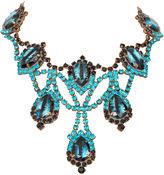 One Kings Lane Vintage '50s Statement Rhinestone Necklace