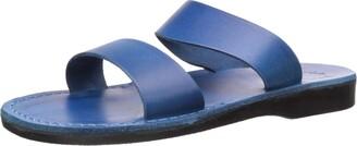 Jerusalem Sandals Women's Aviv Rubber Slide Sandal Gray 36 EU/5 M US