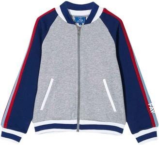 Fay Blue And Grey Sweatshirt