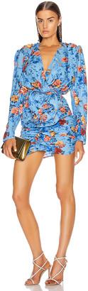 Magda Butrym Burgos Dress in Light Blue | FWRD