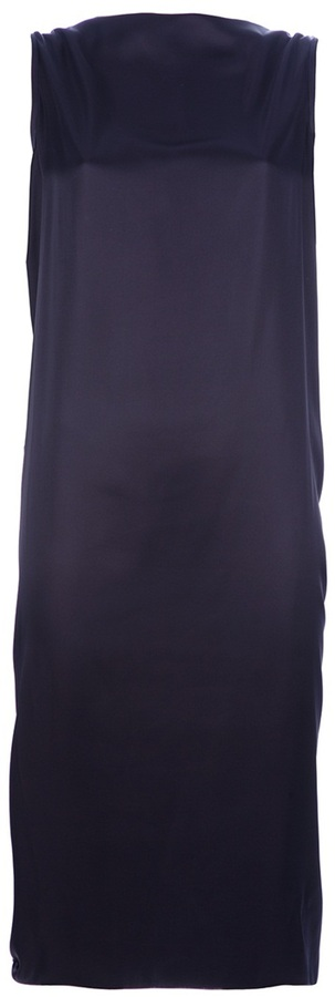 Lanvin Draped sleeveless dress