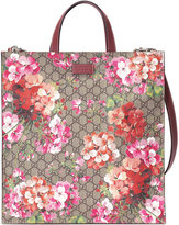 Gucci Soft GG Blooms tote - men - Leather/Canvas/Microfibre - One Size