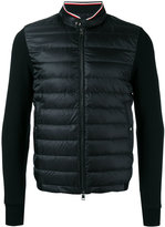 Moncler padded front bomber jacket - men - Cotton/Polyamide/Goose Down - S
