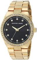 Geoffrey Beene Men's Quartz Metal and Alloy Dress Watch, Color:Gold-Toned (Model: GB8118GD)