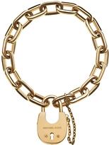 Michael Kors Chains & Elements Golden Link Bracelet