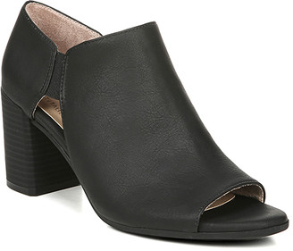 Naturalizer Soul SOUL Women's Casual boots BLACK - Black Cutout Cody Peep-Toe Bootie - Women