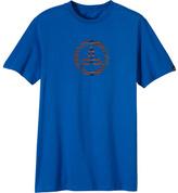 Prana Men's Mandala Print Classic Logo T-Shirt