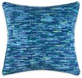 Christian Siriano Watercolor Bloom 20-Inch Square Throw Pillow in Blue