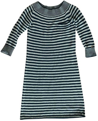 Louis Vuitton Blue Wool Dresses