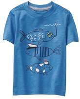 Gymboree Scuba Fish Tee