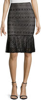 WORTHINGTON Worthington Flounce Hem Lace Skirt