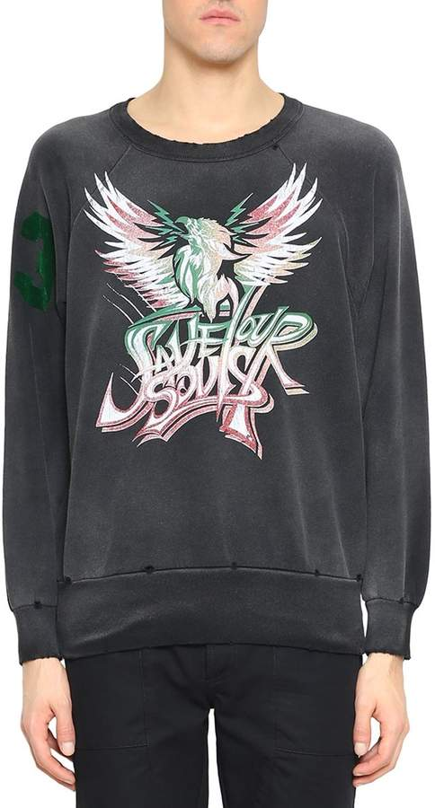 Givenchy Save Our Souls Cotton Sweatshirt