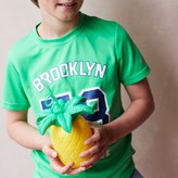 Graham and Green Pineapple Cup With Straw
