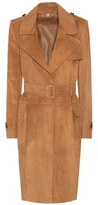 Burberry Hawkesley Suede Trenchcoat