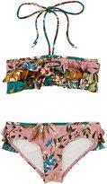 Zimmermann Floral Bandeau Bikini