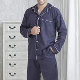Mini Lunn Men's Personalised Navy Cotton Pyjamas