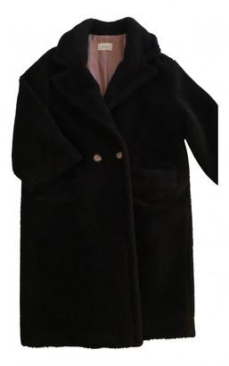 Vicolo Black Faux fur Coats