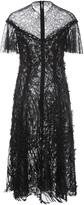 Prabal Gurung Lace Midi Dress