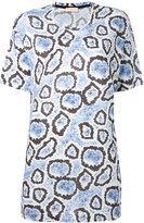 Wunderkind printed boxy T-shirt - women - Cotton/Modal - XS