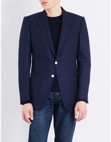 Tom Ford Hopsack woven slim-fit wool and mohair-blend jacket
