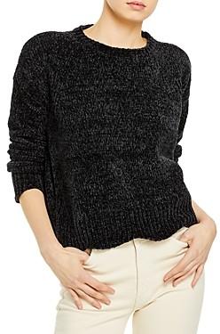 Aqua Scallop Edge Chenille Sweater - 100% Exclusive